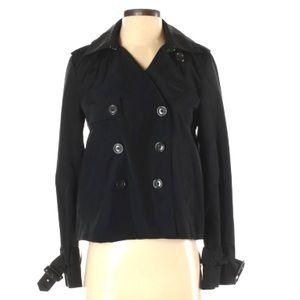 ⏰Banana Republic XS black A-line waterproof jacket
